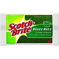 Scotch-Brite Heavy Duty Scrub Sponge, 6 Scrub Sponges