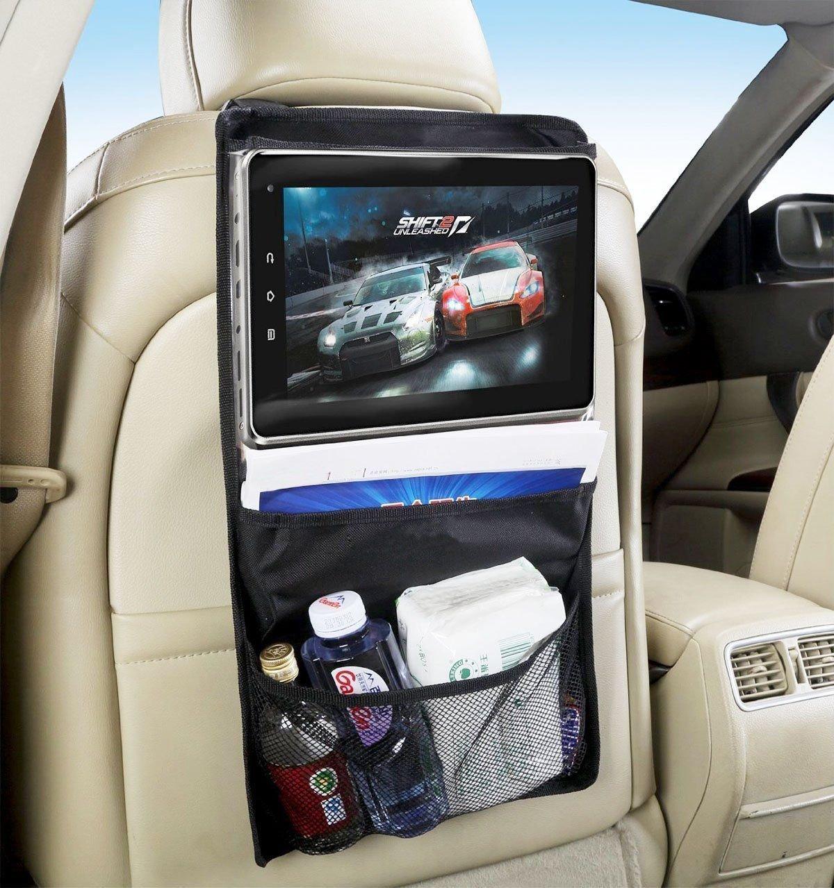 Tablet halterung auto, tablet halter auto, rücksitz organizer, tablet autohalterung, kfz halterung, tablet halterung kopfstütze, auto rücksitz organizer, tablet halter kfz, tablet halterung kfz. Kompatibel mit allen tablets bis 14 : iPad 2/3/4/ , Ipad Air,