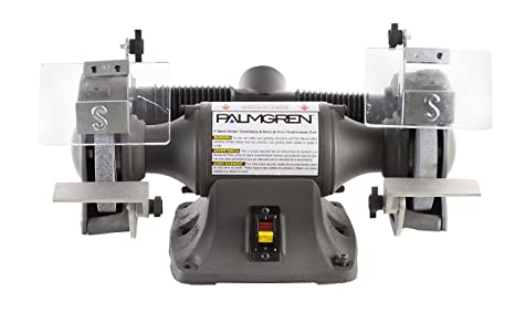 Fine Palmgren 82602 1 3Hp 115 230V Powergrind Bench Grinder With Dust Collection 6 Inch Alphanode Cool Chair Designs And Ideas Alphanodeonline