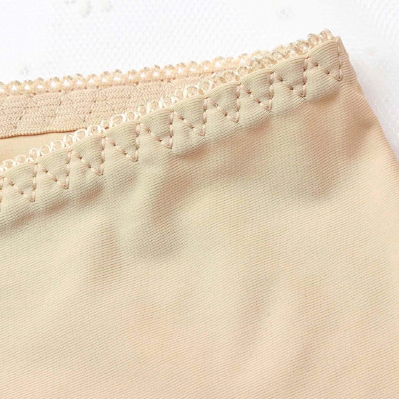 Voqeen 3 Pares de Mujeres Debajo de la Falda Pantalones Seda de Hielo Pantalones de Seguridad Suave Ajuste Leggings Pantalones Cortos de Yoga Plus Soft Stretch Braguita Deportiva Mujer Anti Rozaduras