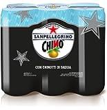 SANPELLEGRINO Bibite Gassate, CHINÒ Lattina da 33 cl Confezione di 6 lattine