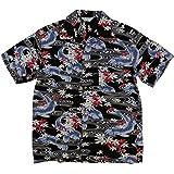 (スタイルド バイ オリジナルズ) Styled by Originals 大鯉流水 和柄 半袖 レーヨン100% アロハシャツ