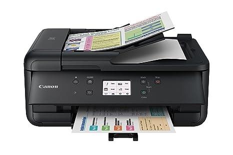 Amazon.com: Impresora Canon Pixma TR7520 inalámbrica ...