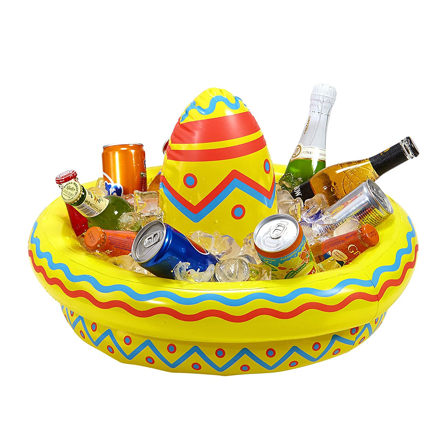 WIDMANN 04839 ? Hinchable Sombrero Enfriador de Bebida: Amazon.es ...