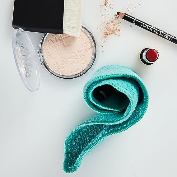 Lumaland Toallitas faciales cosméticas Aprox 25 x 25 cm, 300g/m², 15 Unidades 3 Colores: Amazon.es: Juguetes y juegos