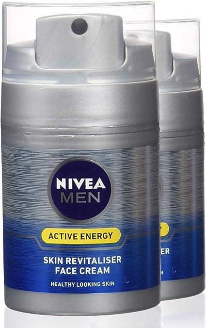 Nivea men - Q10, crema revitalizante, pack de 2 (22x50ml): Amazon ...
