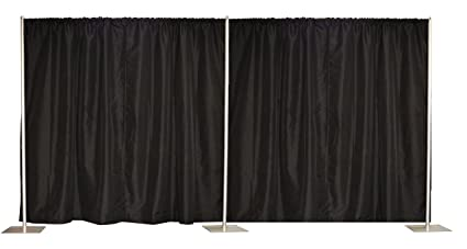 index drape drapes shopping back pipe wall and displays online cart nwci