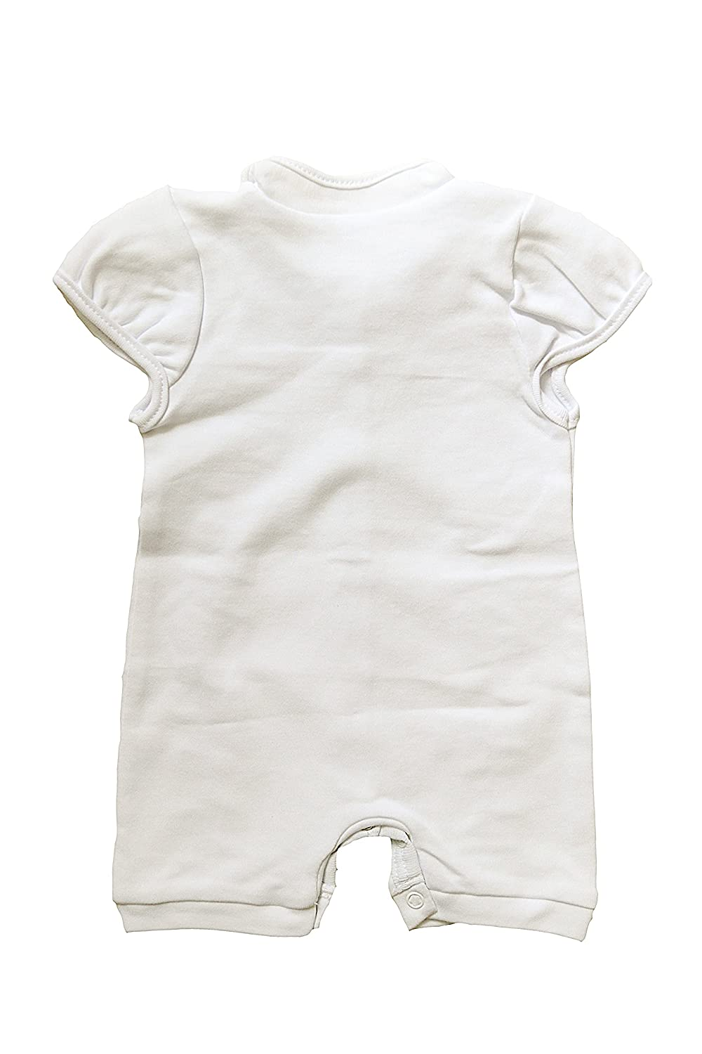 Three Snails Baby Boy White Romper Christening Toddler Outfit Baptism Newborn Cotton Clothes