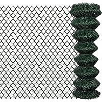 fzyhfa valla valla de red metálica galvanizada 1,25x