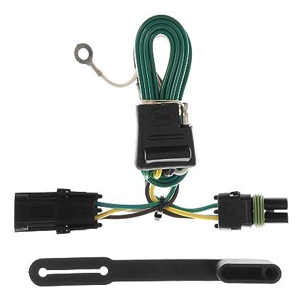 amazon com: curt 55312 vehicle-side custom 4-pin trailer wiring harness for  select chevrolet, gmc pickup trucks, suvs: automotive