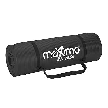 Maximo Fitness Colchoneta para Ejercicios Extra Gruesa - Colchoneta Antideslizante para Gimnasio 183 cm Largo x 60 cm Ancho x 1.5 cm Espesor Pilates, ...