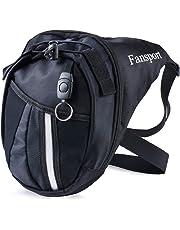 Bolso Para Piernas, Fansport Fanny Waist Pack Carreras de Motos Cintura Bolso de Cintura Para Ir de Excursión