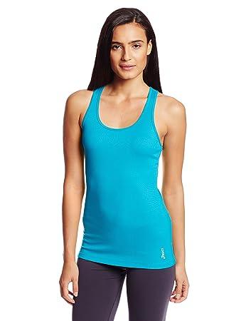 Asics Women's Fit-Sana Rib Tank Top, Bondi Blue, X-Small