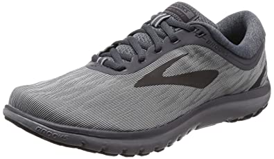 Brooks Men's PureFlow 7 Grey/Grey/Black 7 ...