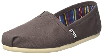 b5c255b32636c TOMS Women's Classics Canvas Pumps Ash Grey