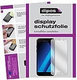 Samsung Galaxy A3 (2017) Schutzfolie - 6x dipos Displayschutzfolie Folie klar