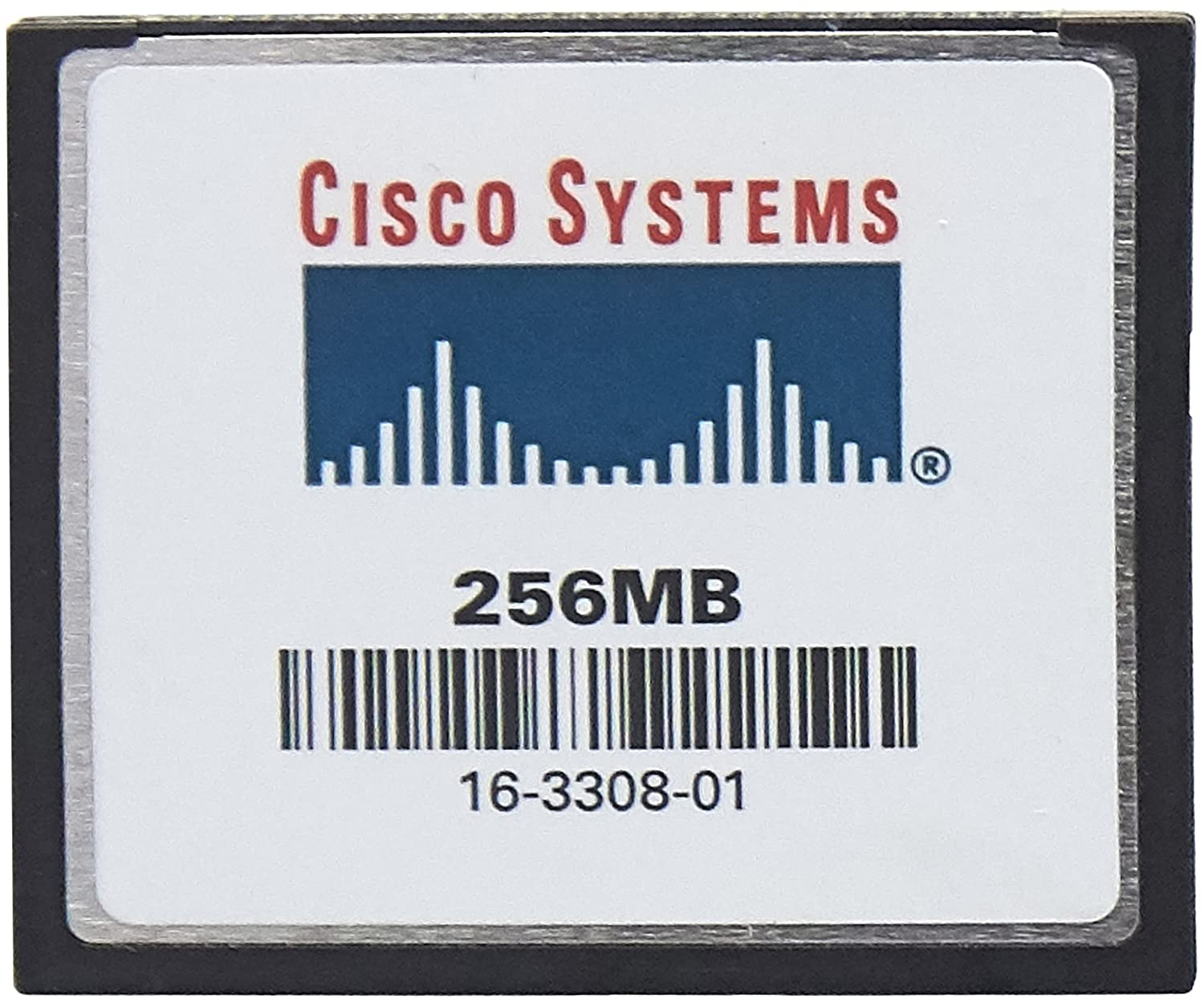Cisco flash memory card - 256 MB - CompactFlash Card (MEM-C6K-CPTFL256M=) CISCO SYSTEMS - ENTERPRISE Switches & Hubs