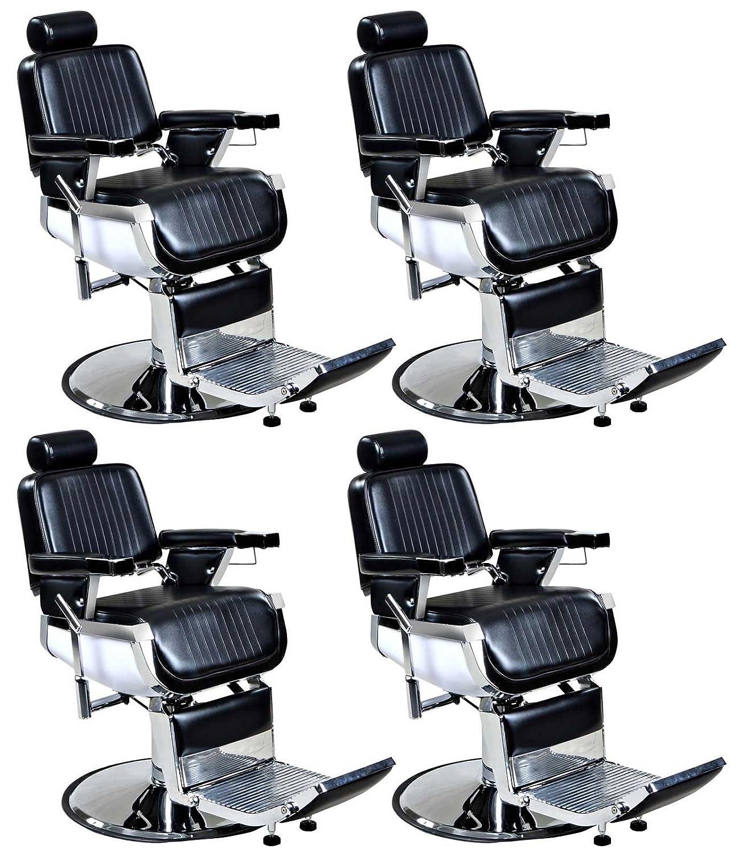 "Amazon 2 Quantity ""Truman"" Vintage Reclining Salon Barber"