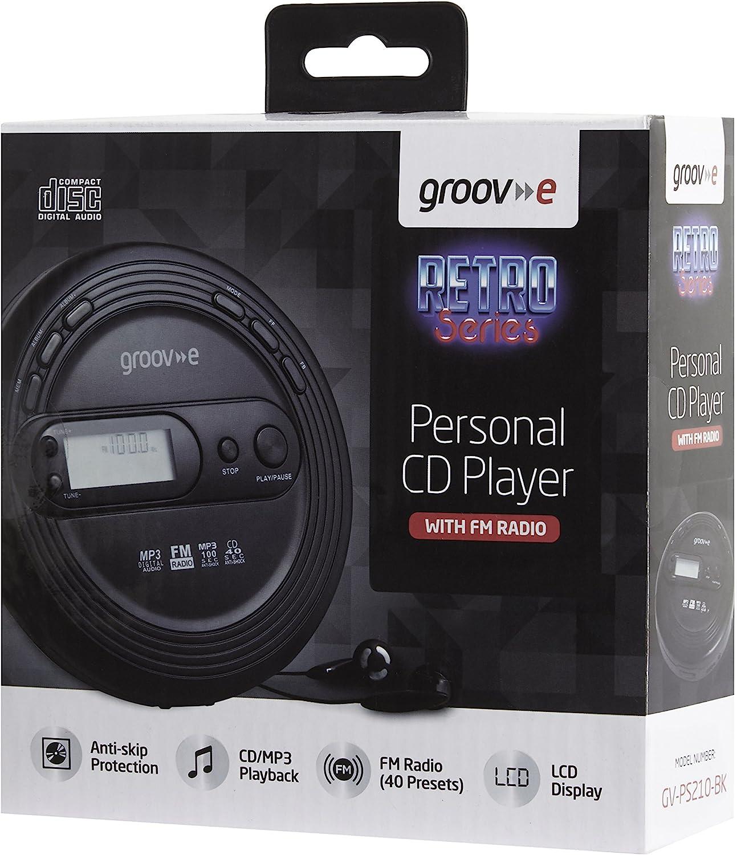 Groov E Gvps210 Cd Player Retro Serie Mit Radio Elektronik