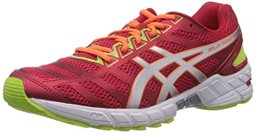 46f0926ac1c6 ASICS GEL-DS TRAINER 18 Mens Running Shoes T305N-2193 RED SILVER ...