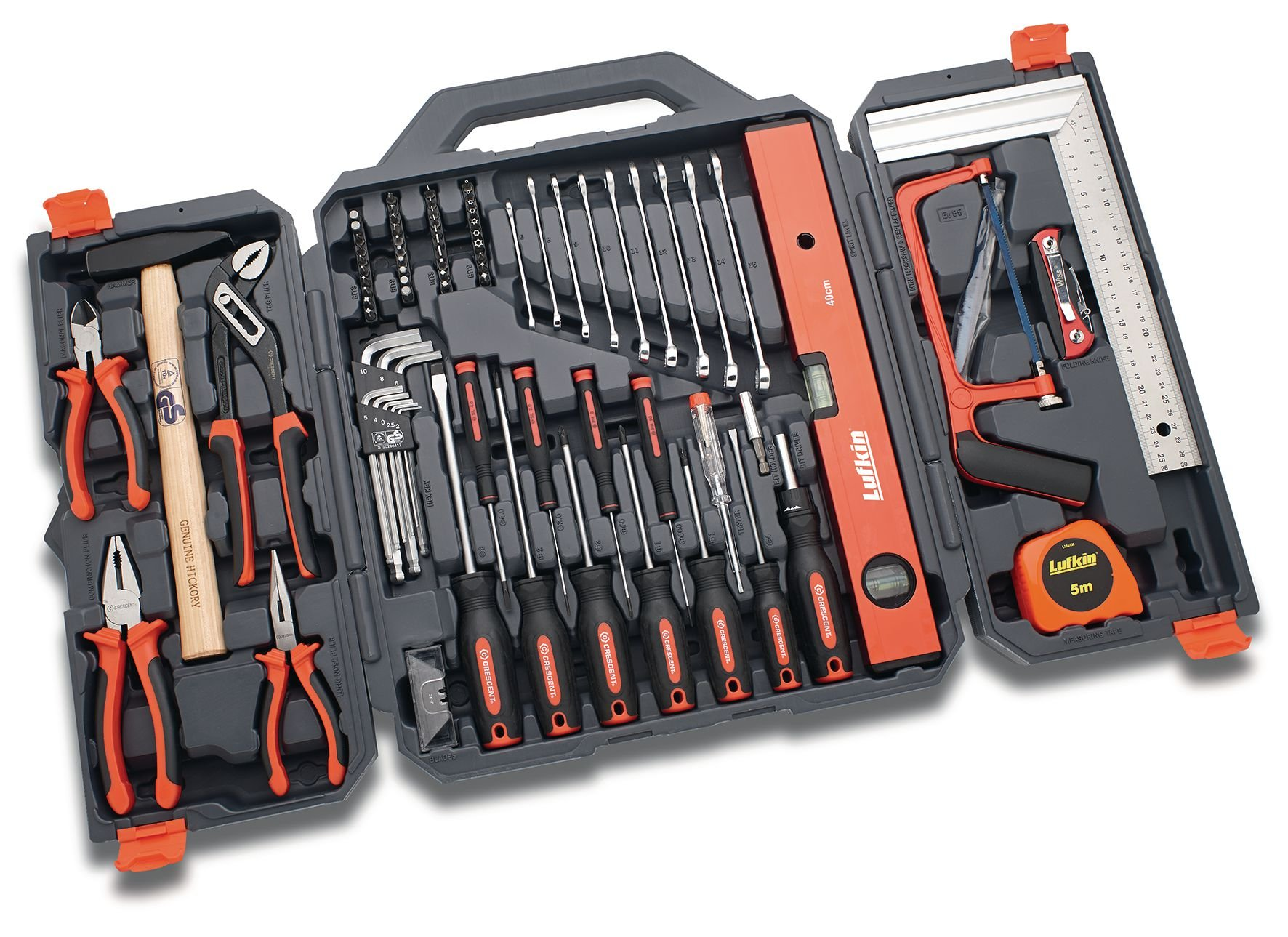 Crescent CTK95NEU Professional Home Owner Tool Set with 95 Tools by Crescent