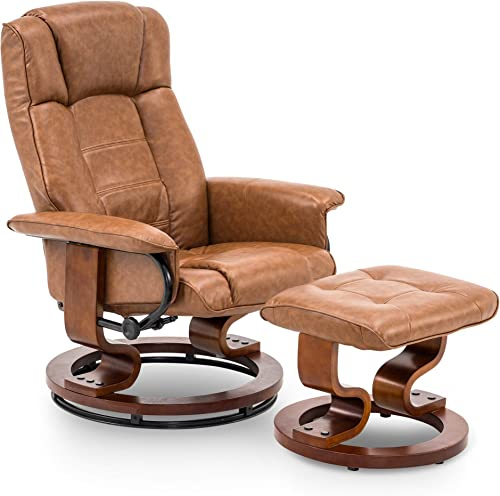 Reviewed: Mcombo Swiveling Recliner Chair