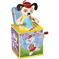 Schylling Polka Puppy Dancing Jack Box Toy