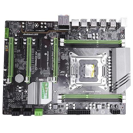 CUHAWUDBA X79T Ddr3 PC Computadora De Escritorio Placa Madre ...