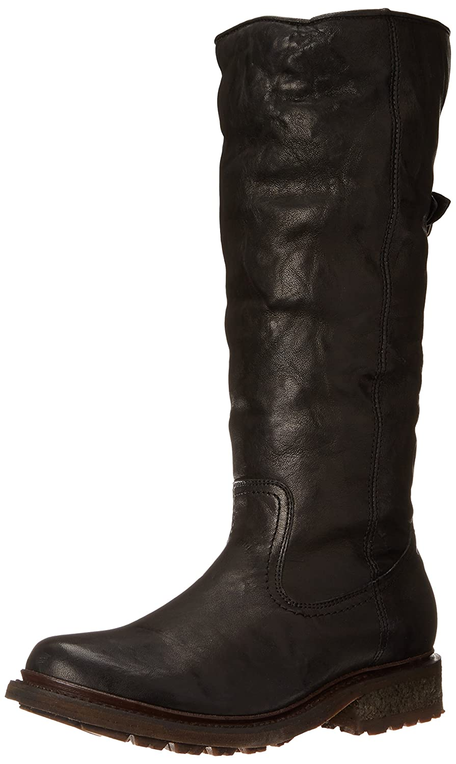 FRYE Women's Valerie Sherling Pull-On Riding Boot B00IMJLOW4 8.5 B(M) US|Black-75007