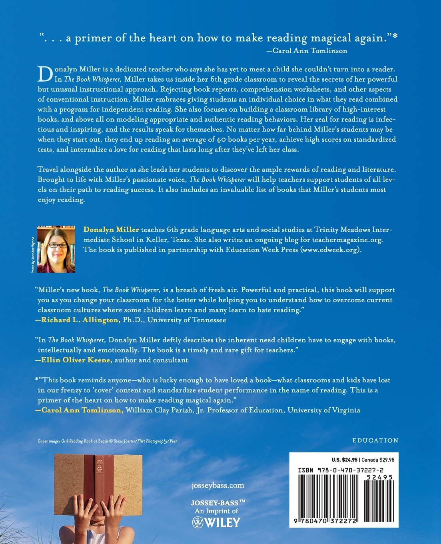 The Book Whisperer: Awakening the Inner Reader in Every Child: Amazon.ca:  Donalyn Miller, Jeff Anderson: Books