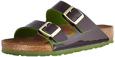 789985eee4f4 Amazon.com  Arizona Birko-Flor Patent Two Tone Espresso  Shoes