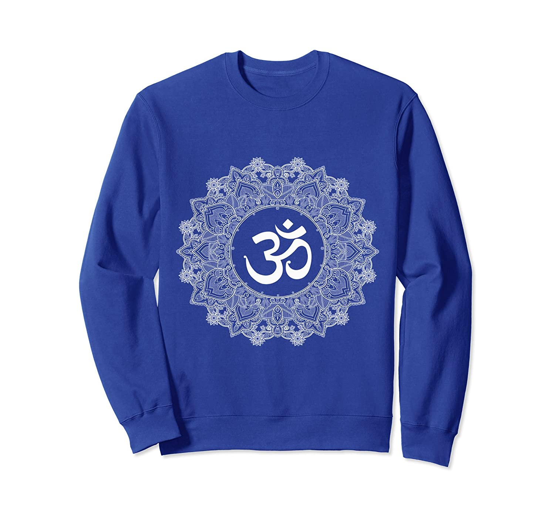 Buddhism Sweater Om Symbol In Hindu Mandala Artwork Prm Paramatee
