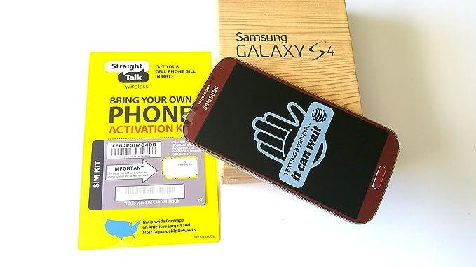 Amazon com: Straight Talk Samsung Galaxy S4