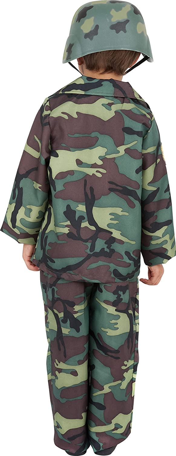 Smiffyu0027s Childrenu0027s Army Boy Costume Top Trousers and Backpack Size S Colour Camouflage 38662 Smiffys Amazon.co.uk Toys u0026 Games  sc 1 st  Amazon UK & Smiffyu0027s Childrenu0027s Army Boy Costume Top Trousers and Backpack ...