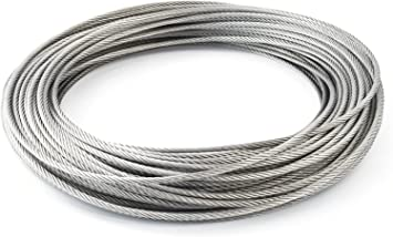 GARDEN  FENCING TRAINING 100M or 200M of 1mm GALVANISED WIRE GENERAL PURPOSE
