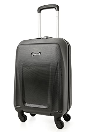 00f6d254d 5 Cities Lightweight Abs Hard Shell Cabin Suitcase Approve for Ryanair  Easyjet British Airways and More