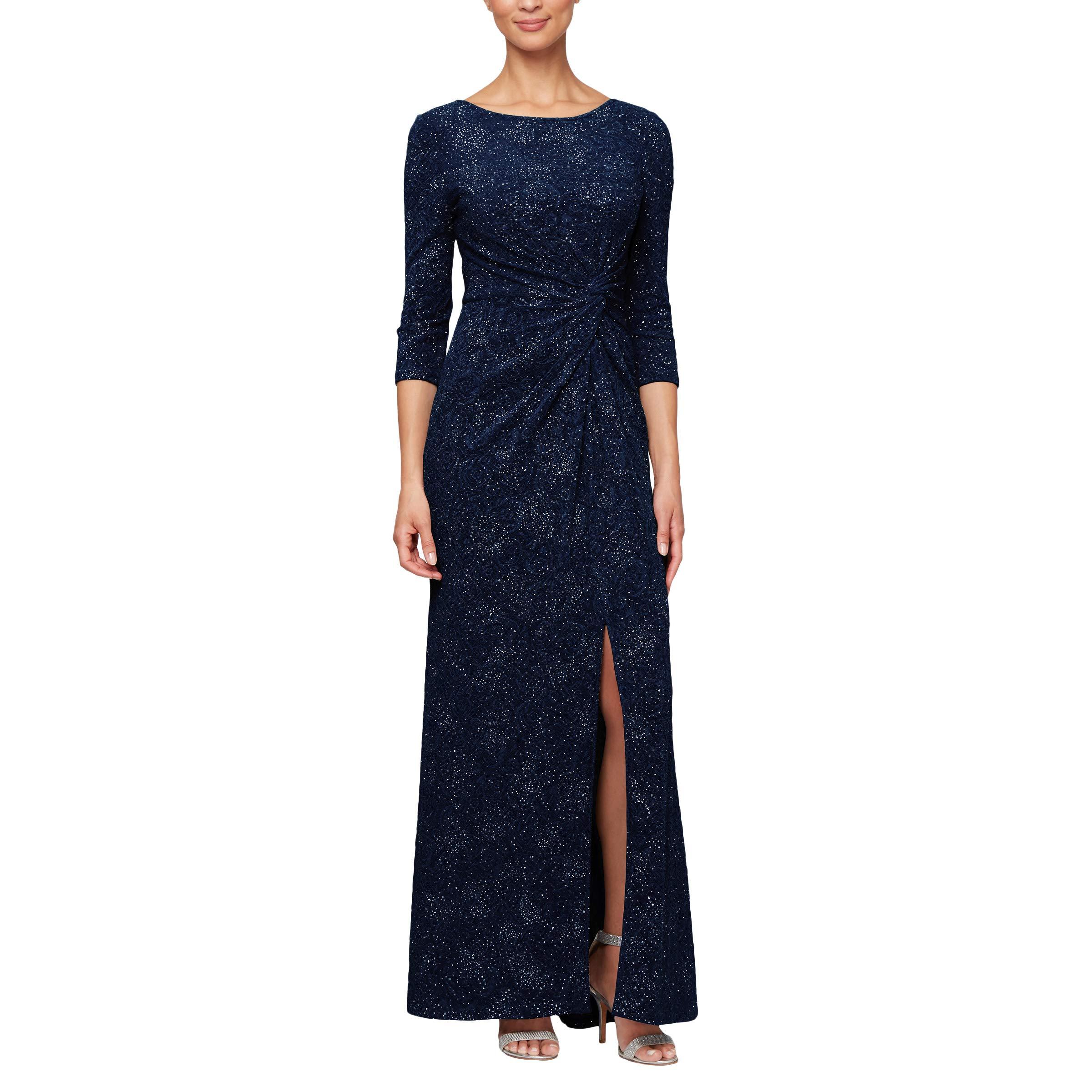 Petite plus womens evening dresses — img 3