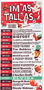 I'm As Tall As New The Big, Fun, Colorful Height Chart for Kids (and Overgrown Kids!)