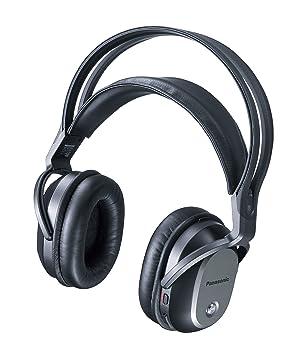 Panasonic Digital inalámbrico Sistema de Auriculares Surround rp-wf70-k (Negro) 【
