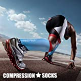 Compression Socks (3 Pairs), 15-20 mmhg is BEST