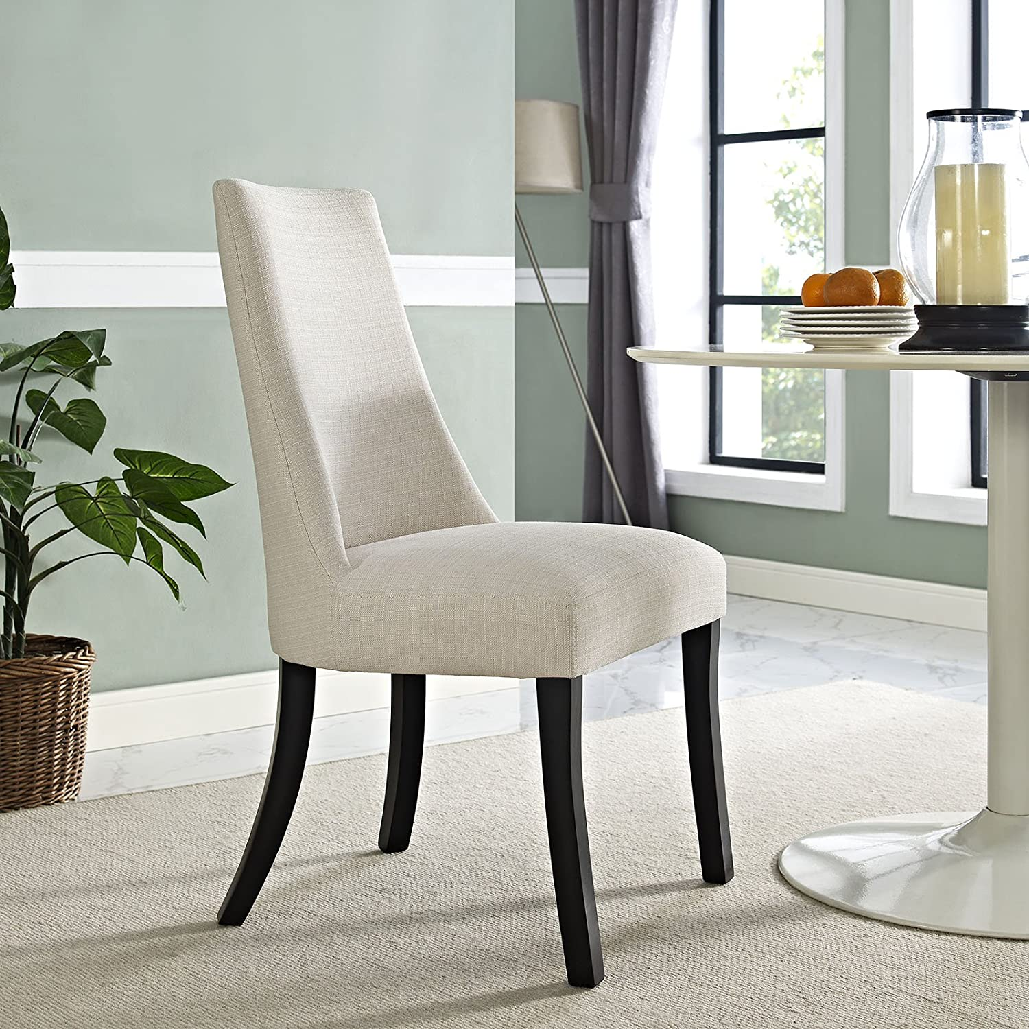 Amazon Modway Reverie Dining Side Chair in Beige Beige Chairs
