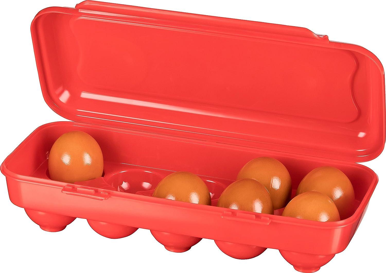 Kigima portauovo per 10 uova rosa