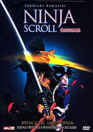 Amazon.com: Ninja Scroll DVD Import Korea: Yoshiaki Kawajiri ...
