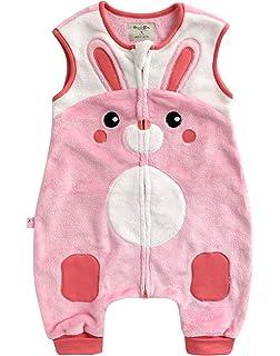 Vaenait baby 1-7Y Super Soft Microfiber Fleece Lined Kids Girls Sleep and Play Blanket Sleeper Pyjama Love Boom
