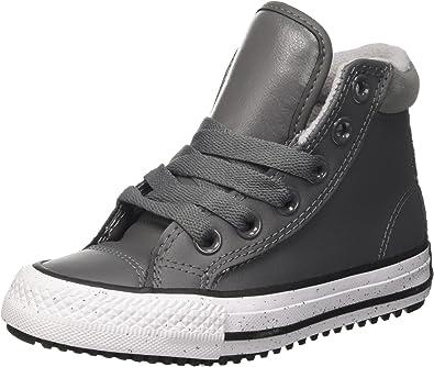 Converse CTAS Hi Pc Leather, Baskets Hautes Mixte Enfant