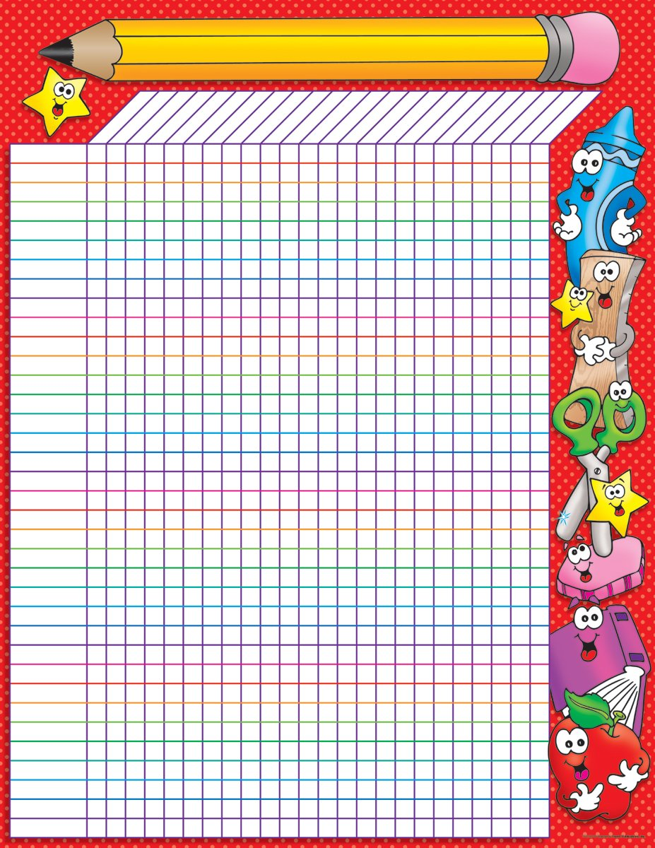 Scholastic School Time Incentive Chart (TF2129) by Scholastic