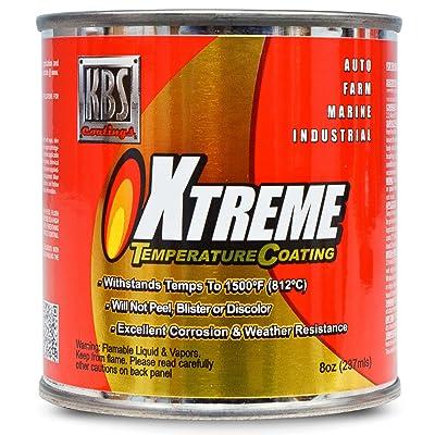 KBS Coatings 65208 Off-White Xtreme Temperature Coating - 8 fl. oz.: Automotive [5Bkhe1503235]