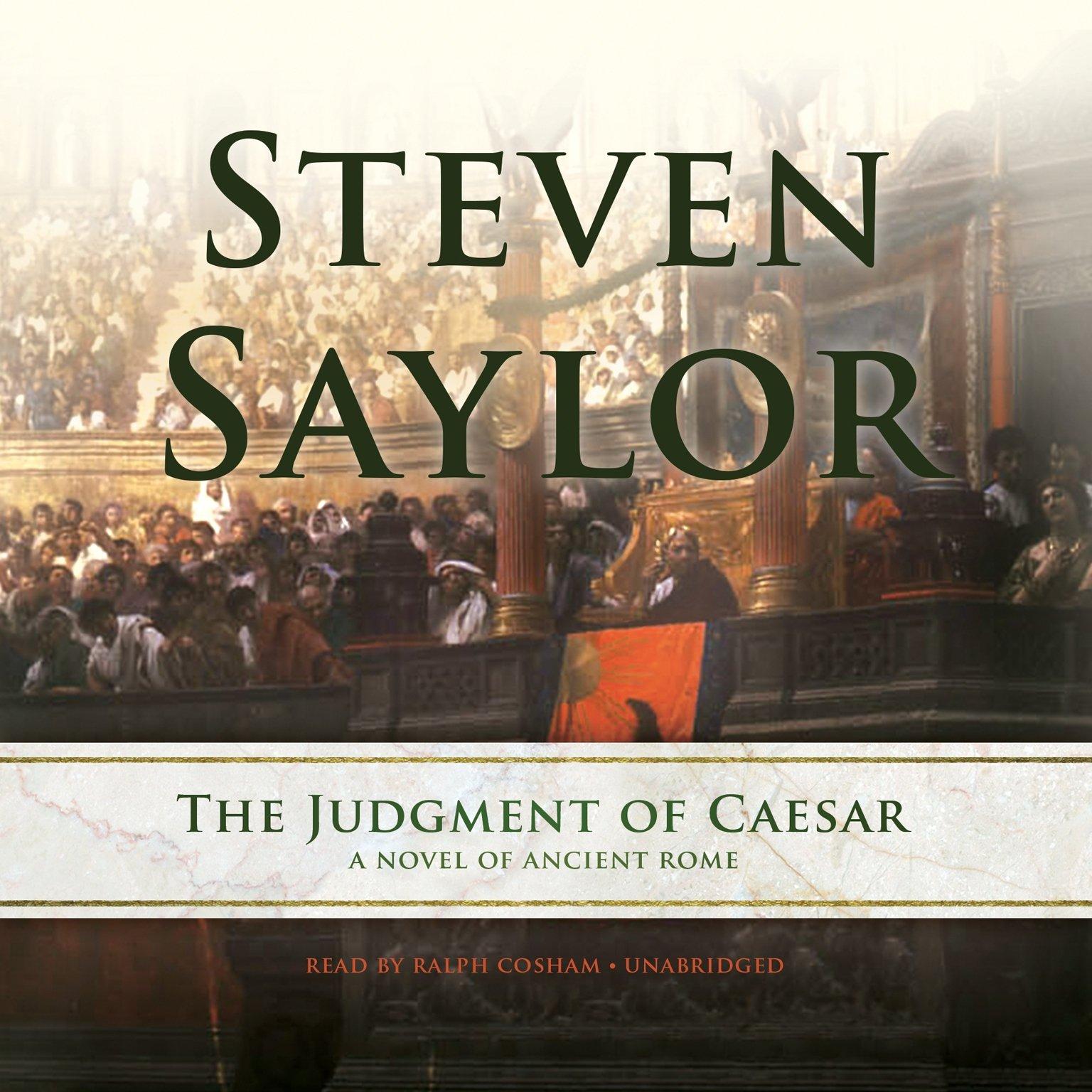 The Judgment of Caesar: A Novel of Ancient Rome (Roma Sub Rosa series, Book 10) ebook