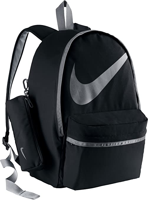 89613c5c0d Nike Kids Halfday Back To School Backpack (Black/Grey)