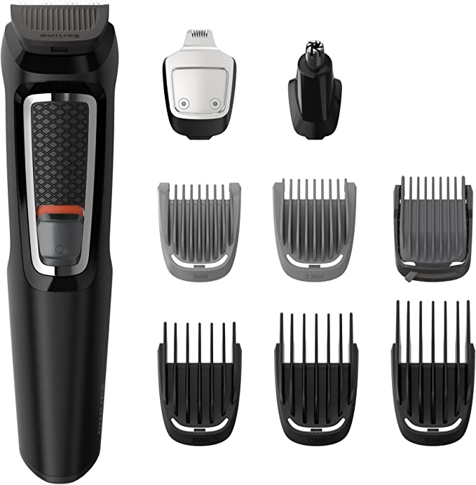 Philips MG5720/18 Recortadora para barba y pelo, 9 en 1 ...